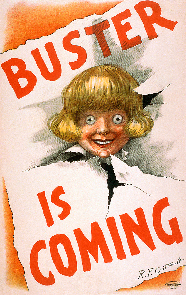 Buster Is Coming