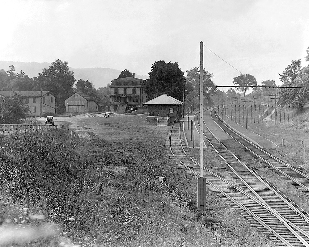 The Iron Works Railroad Station