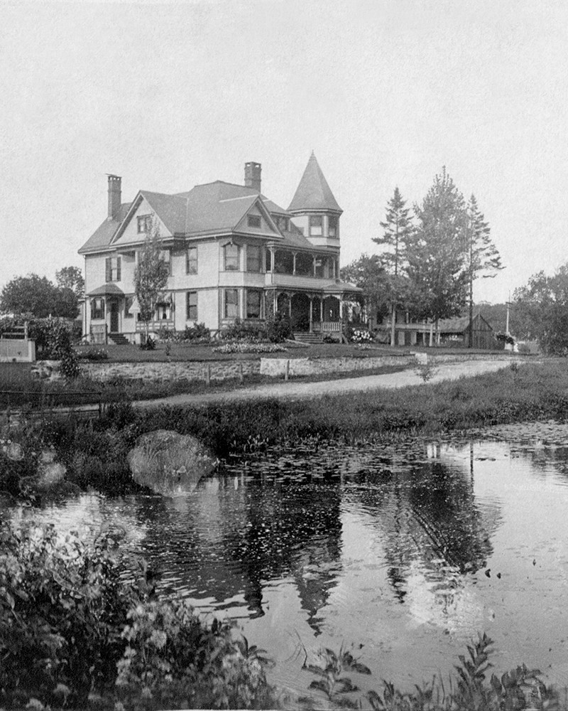 The Barnum Curtis Mansion