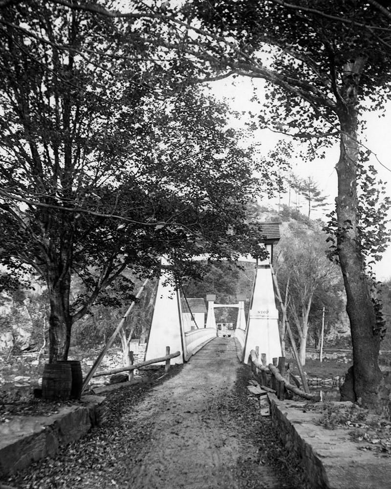 The Zoar Suspension Bridge