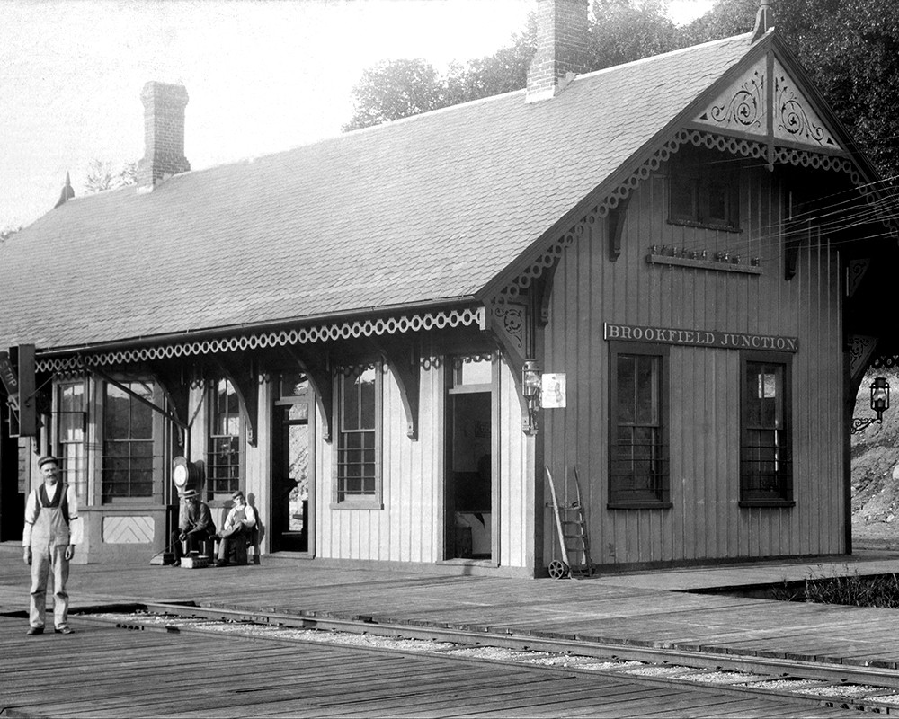 Brookfield Junction Railroad Station