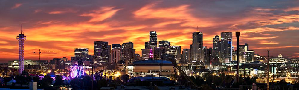 Denver Sunrise Ii Photography Art | Jon Blake Photography