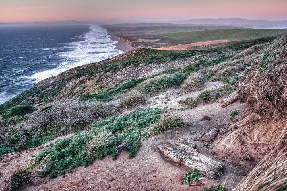 Point Reyes South Beach Sunset