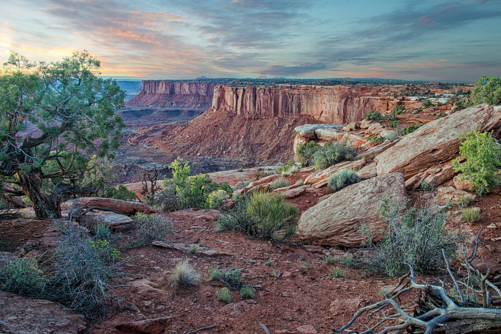 Canyonland Sunset