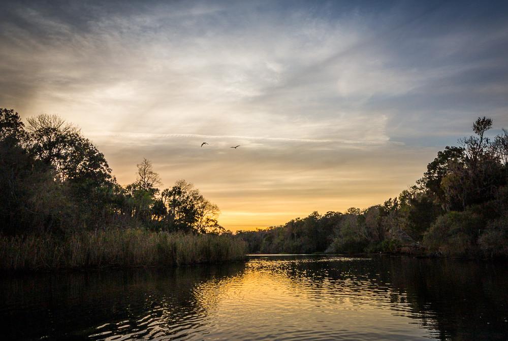 Chassahowitzka River, Florida, Landscape, Photography, Sunset,