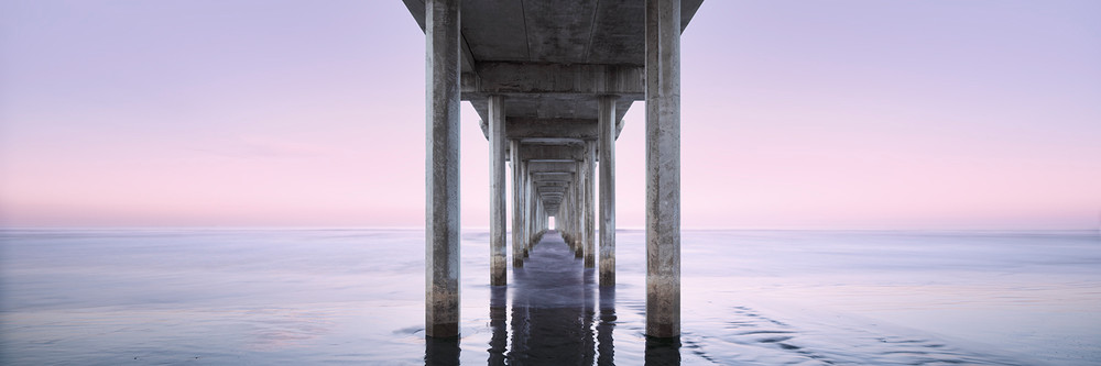 Scripps Pier Photography Art | DE LA Gallery