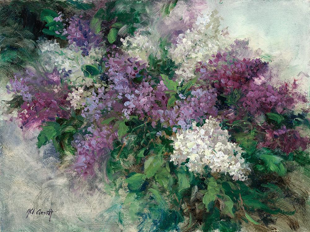 Canyon Road Lilacs, Joe Anna Arnett