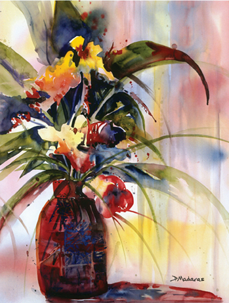 Pat's Flowers I | Southwest Art Gallery Tucson | Madaras