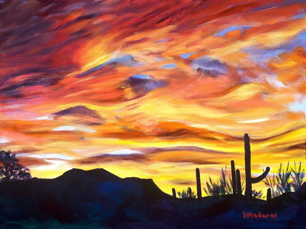 Painted Sky | Southwest Art Gallery Tucson | Madaras