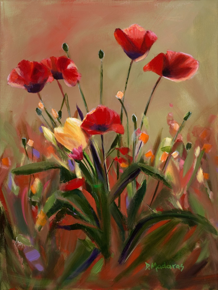 Poppy Love | Southwest Art Gallery Tucson | Madaras Gallery