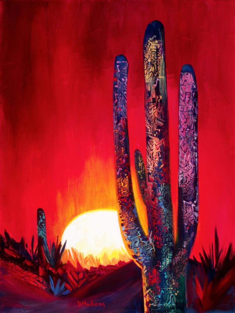 Singing Saguaros | Southwest Art Gallery Tucson | Madaras