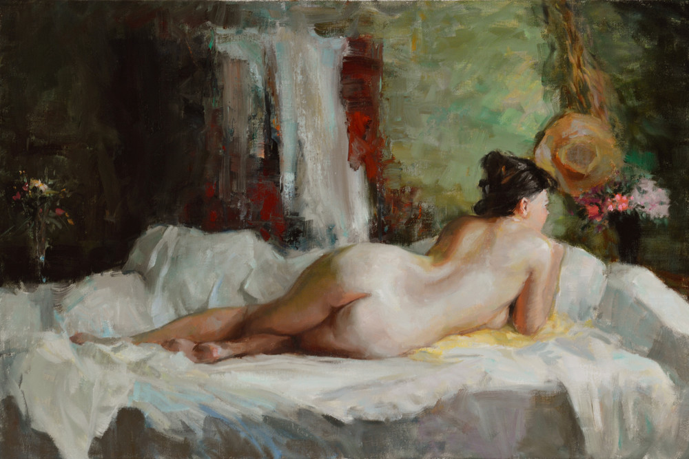 Nude figure painting Wallis