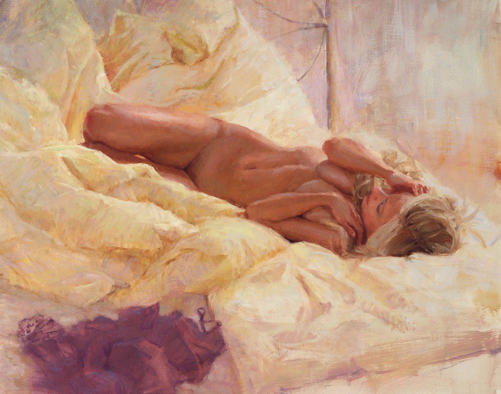 Nude figure painting Wallis
