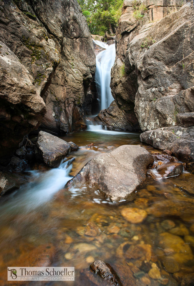 Chasm Falls prints as home or office decor by Thomas Schoeller