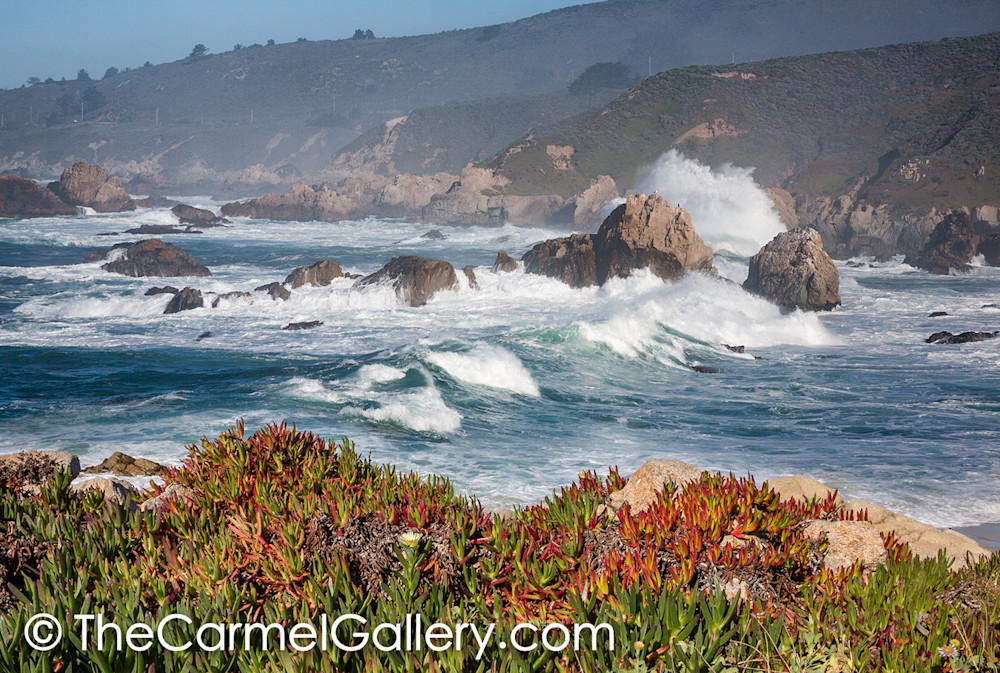 Wild Waves Big Sur Art | The Carmel Gallery