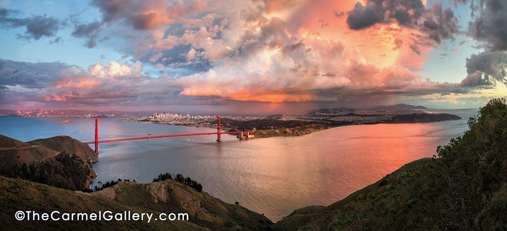Grand Sunset San Francisco Art | The Carmel Gallery