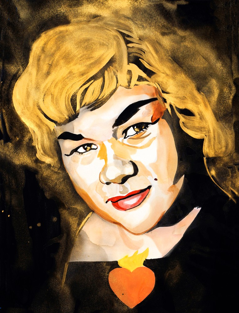 Etta James Art | William K. Stidham - heART Art