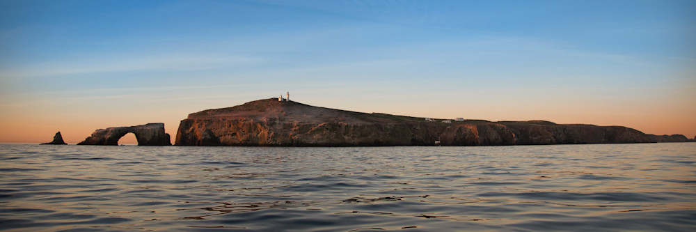 Anacapa Dawn (panoramic)
