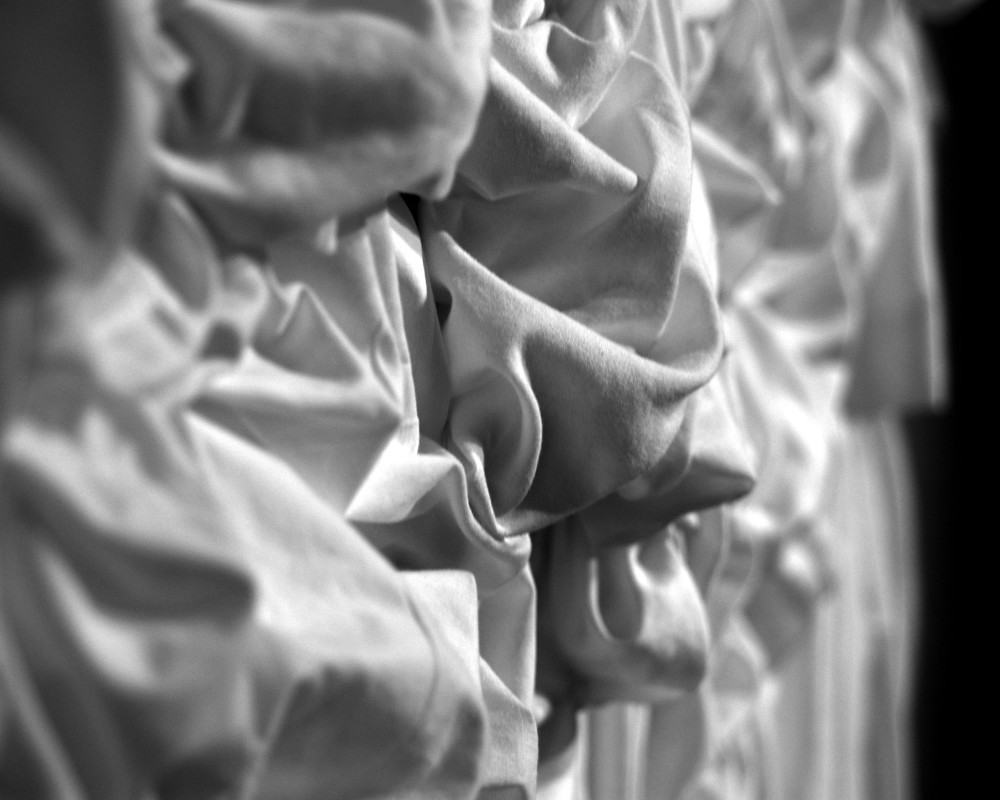 Fabric in Perspective in Black and White