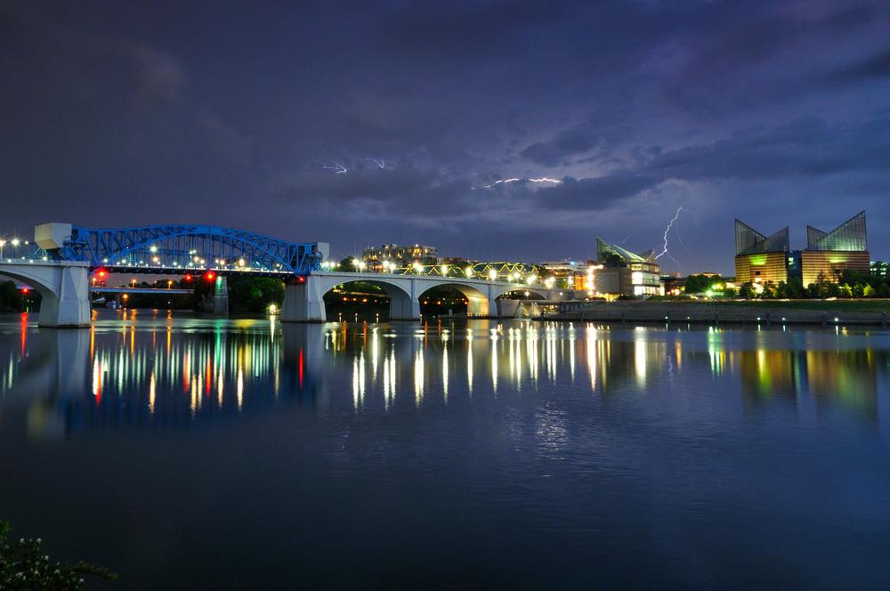 Market Street Bridge & Storm Photography Art | Nicholas Jensen Photography