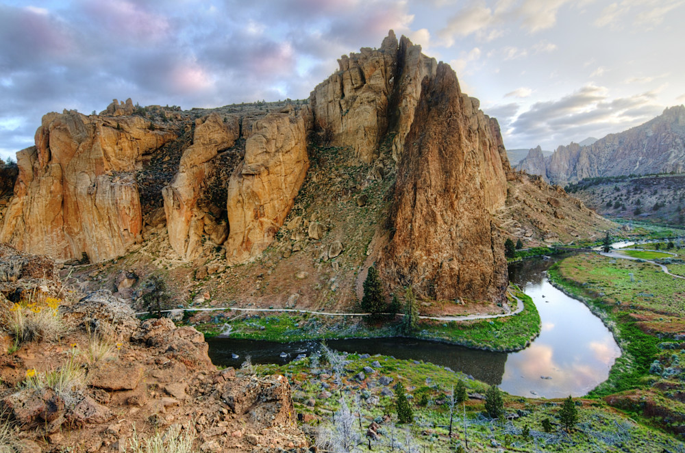Smith Rock Sunrise Photograph for Sale as Fine Art.