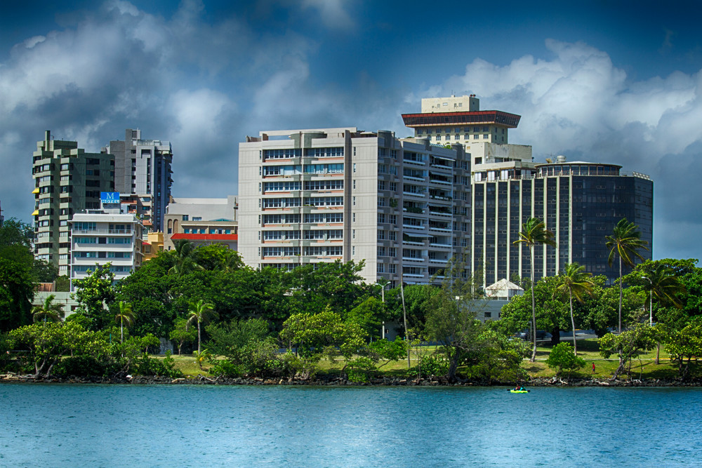Fine Art Photograph of a Cloudy San Juan by Michael Pucciarelli