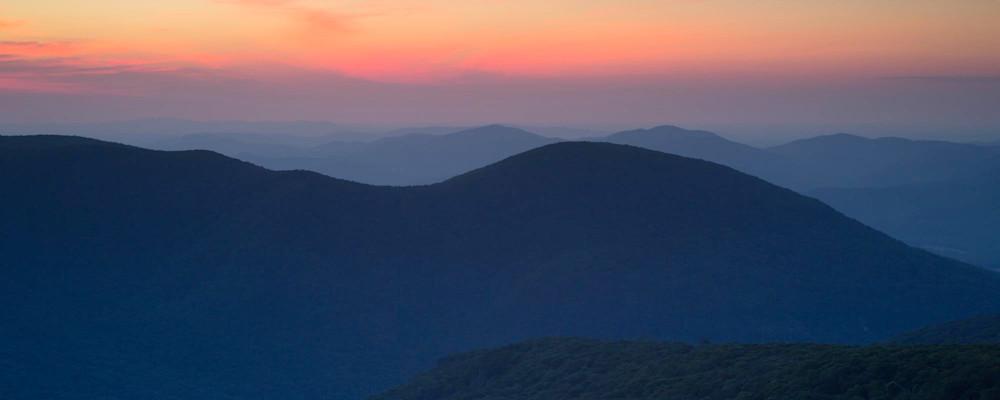 Smoky Mountain sunrise panoramic