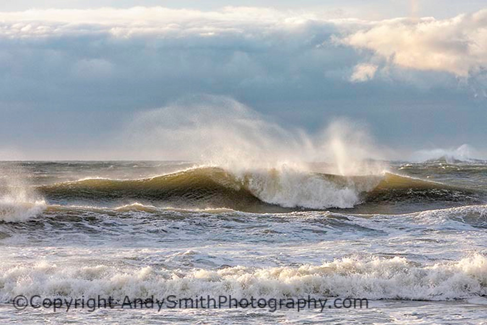 wave in the storm fine art photograph