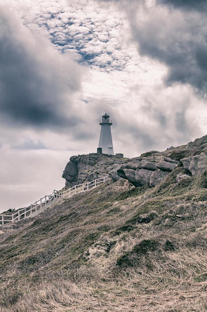 Newfoundland Art Cape Spear Lighthouse