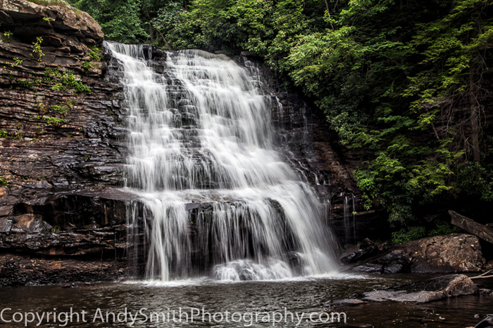 Muddy Creek Falls  fine art photograph