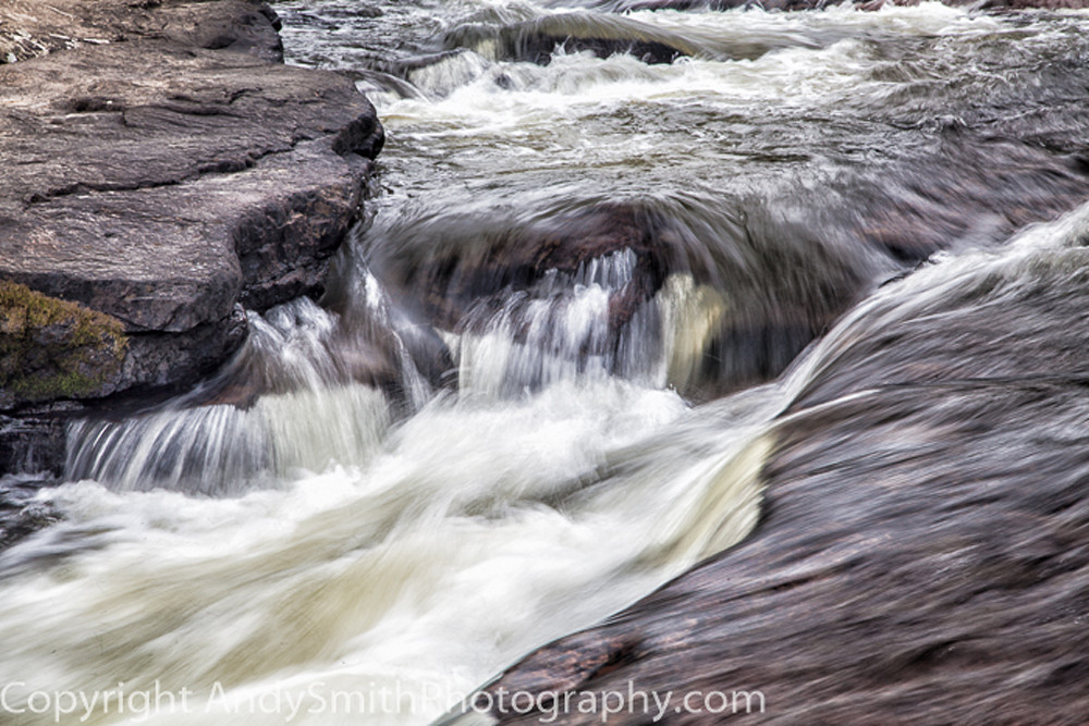 Up Close at Swallow Falls  fine art photograph