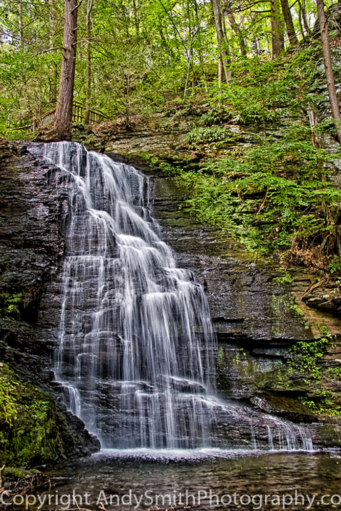 Bridal Veil Falls  fine art photograph