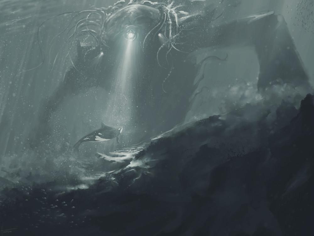 Deep Dive: Fine Art Print by Hondo Branson.