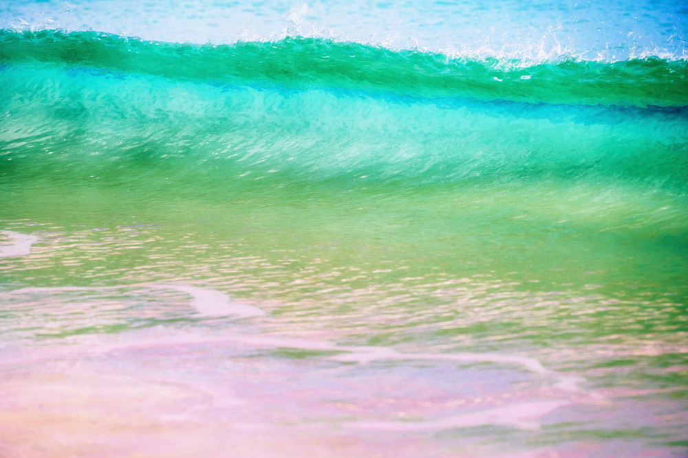 Pink Sand and Surf - Harbour Island, Bahamas 2016
