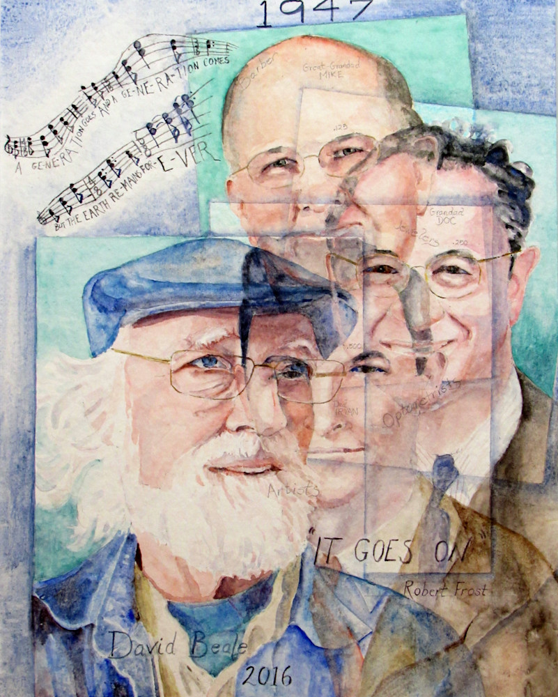 Four Generations Art | David Beale