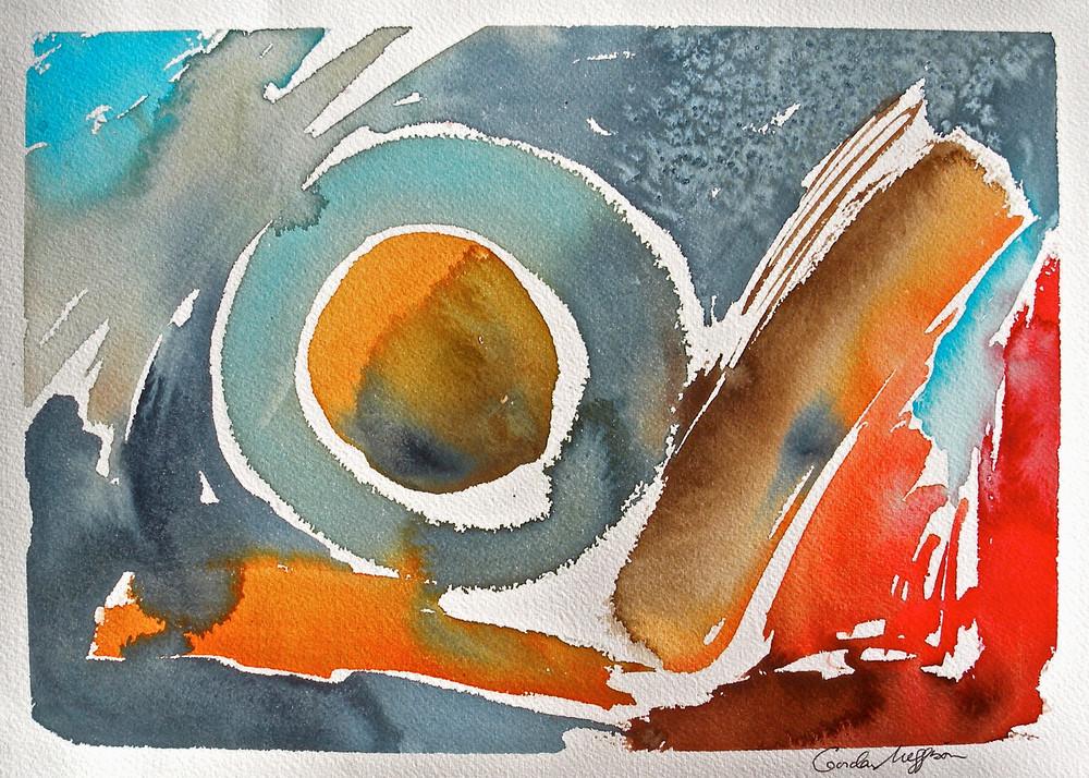 The Gods of Tao | Abstract Watercolors| Gordon Meggison IV