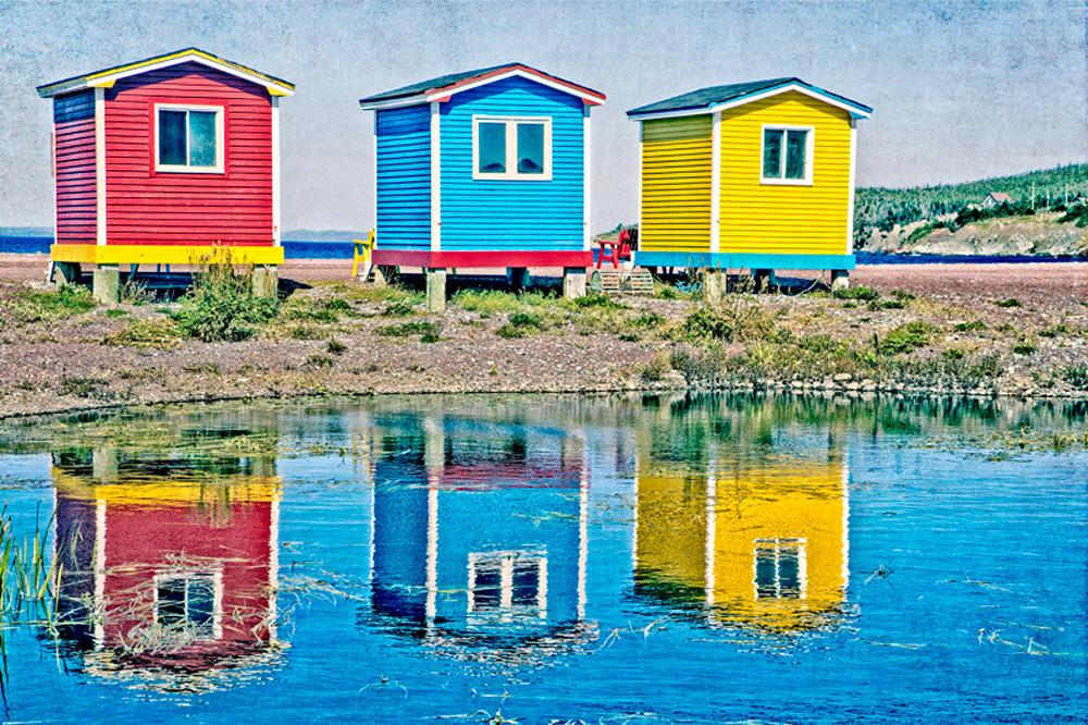Fish Huts - Jellybean Houses - Cavendish