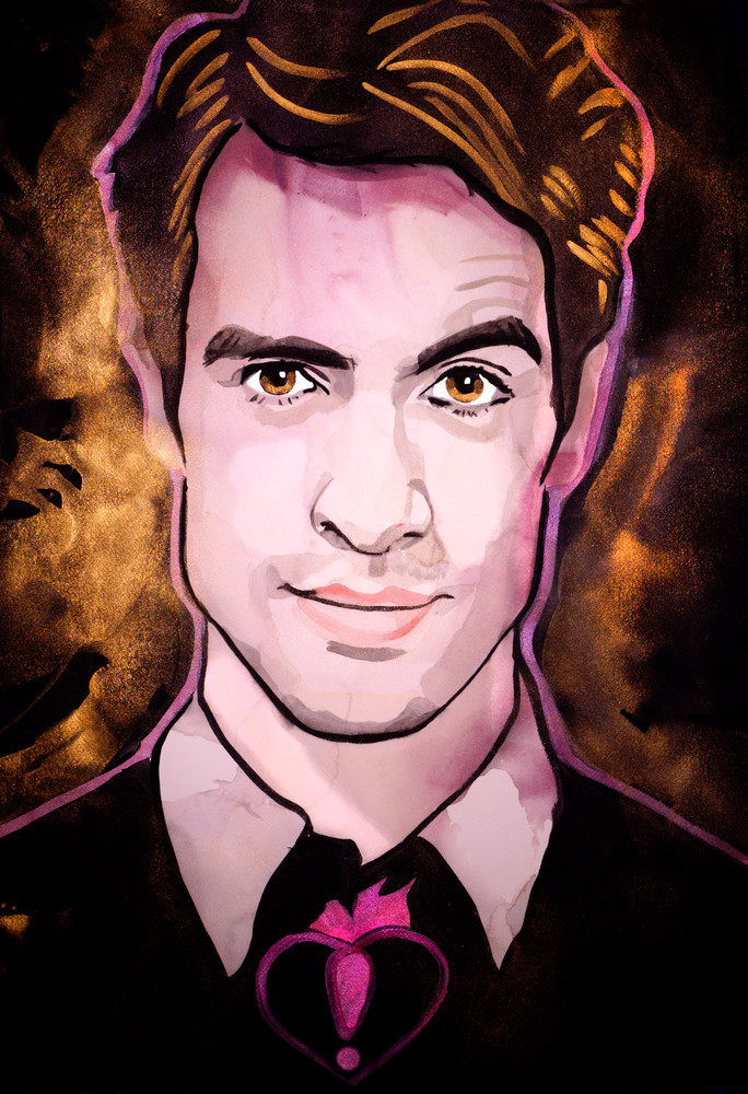 Brendon Urie   Panic! At The Disco Art | William K. Stidham - heART Art
