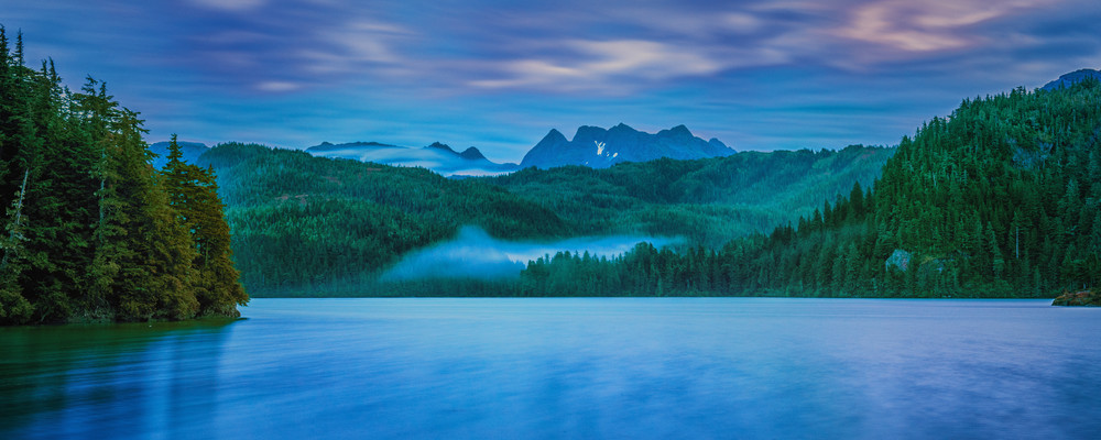 Fine Art Photograph Landscape Sunrise In cordova alaska
