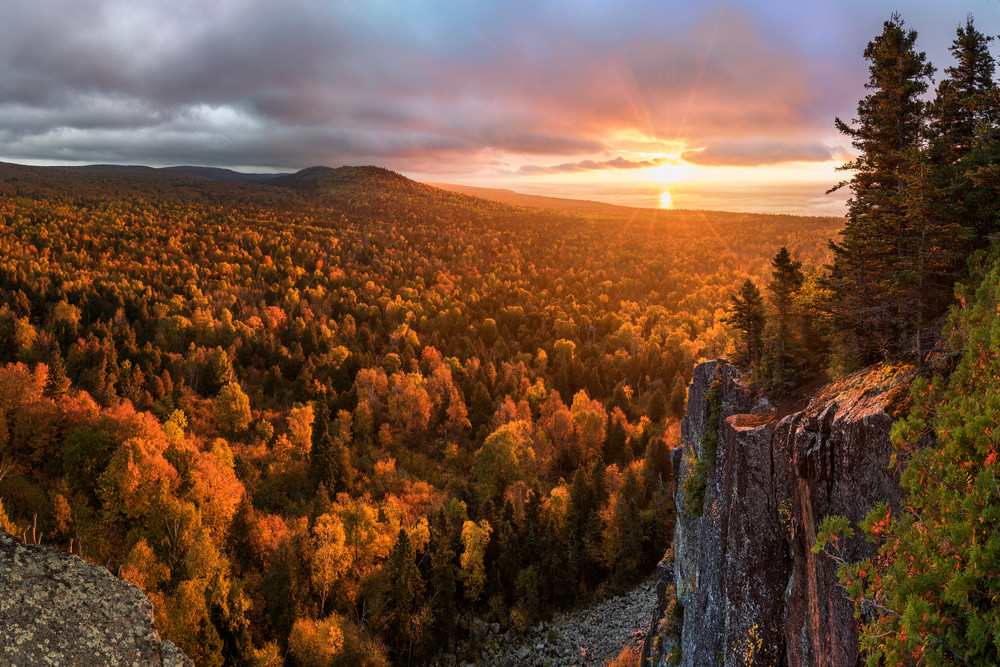 """Awakening"" - Sunrise on Oberg Mountain"
