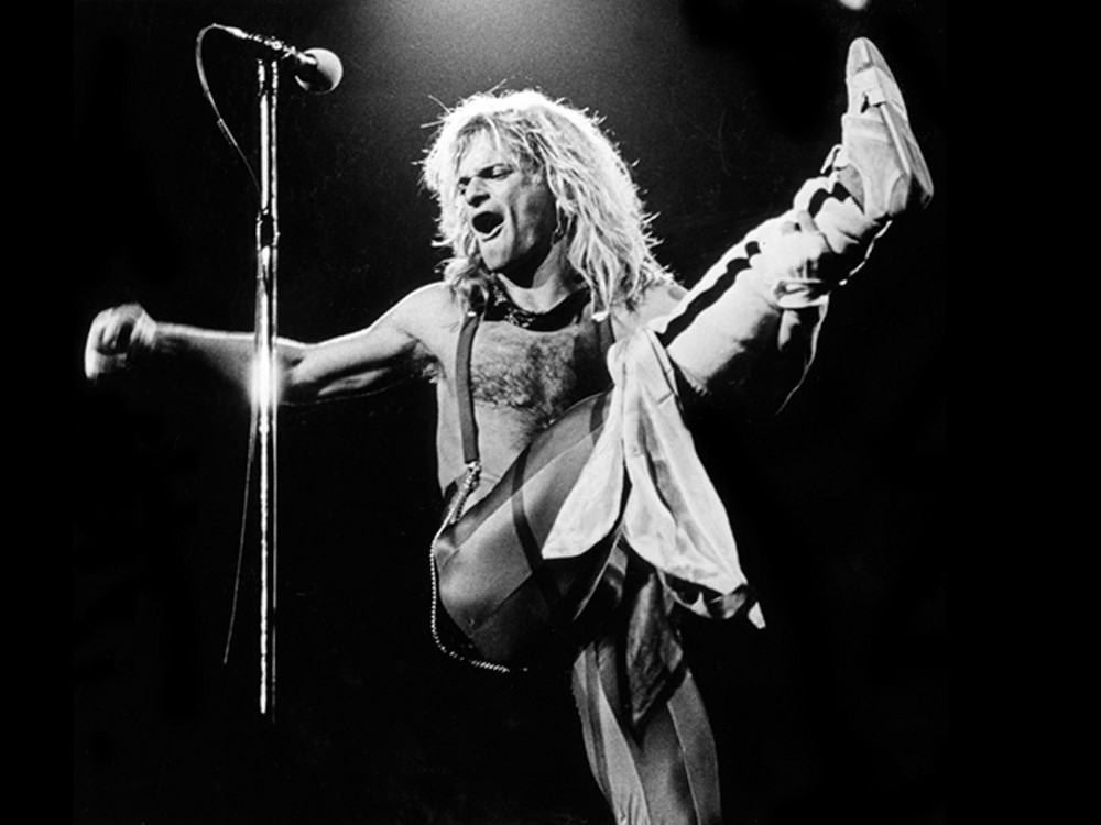 David Lee Roth, Van Halen, On Stage No. 3 Limited Edition Print