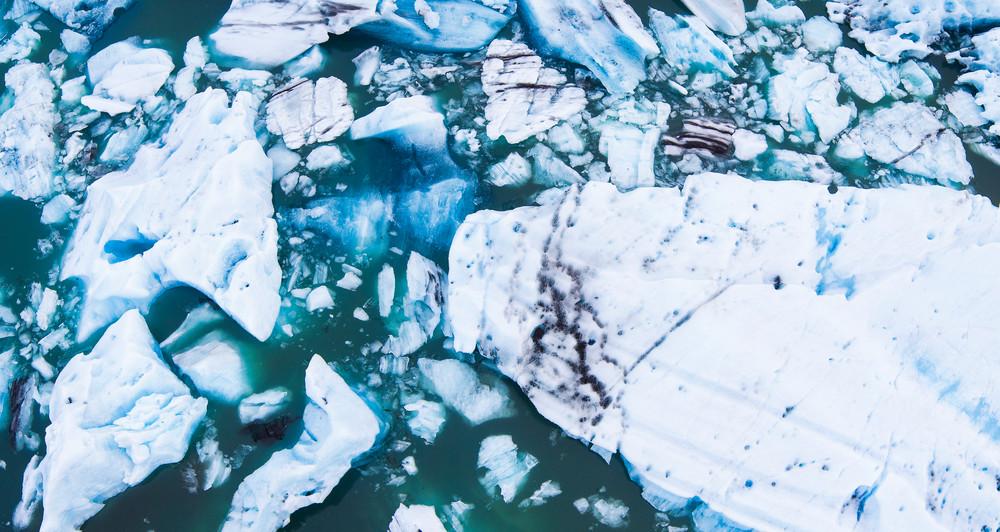 Jokulsarlon Glacier Lagoon Icebergs