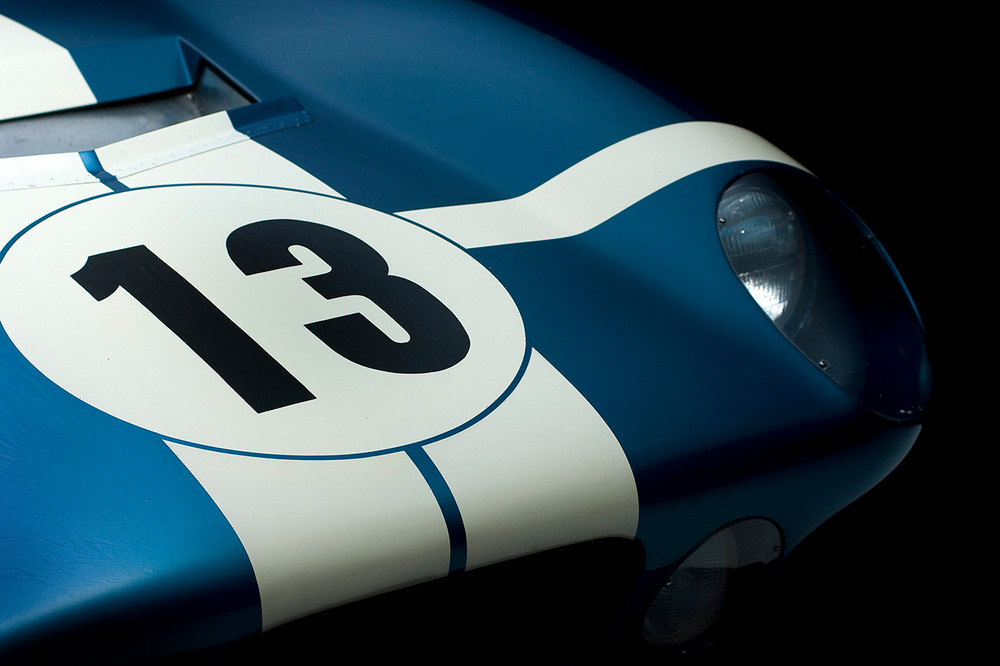 Shelby Cobra Daytona Coupe Front View by Boyd Jaynes