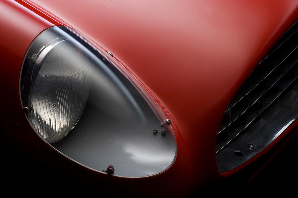 Ferrari 410 Sport Scaglietti Light Detail by Boyd Jaynes