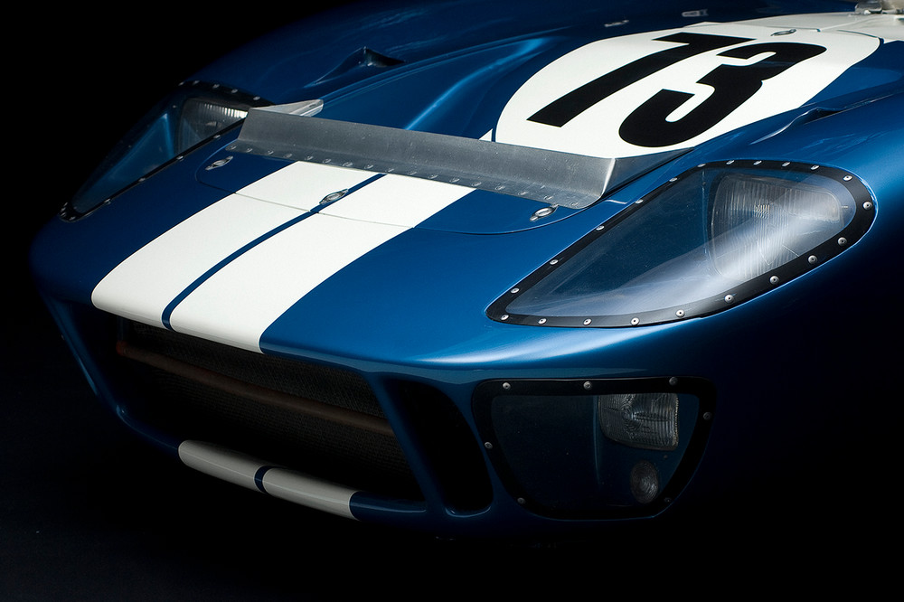 Ford 1964 GT40 MK I Front View by Boyd Jaynes