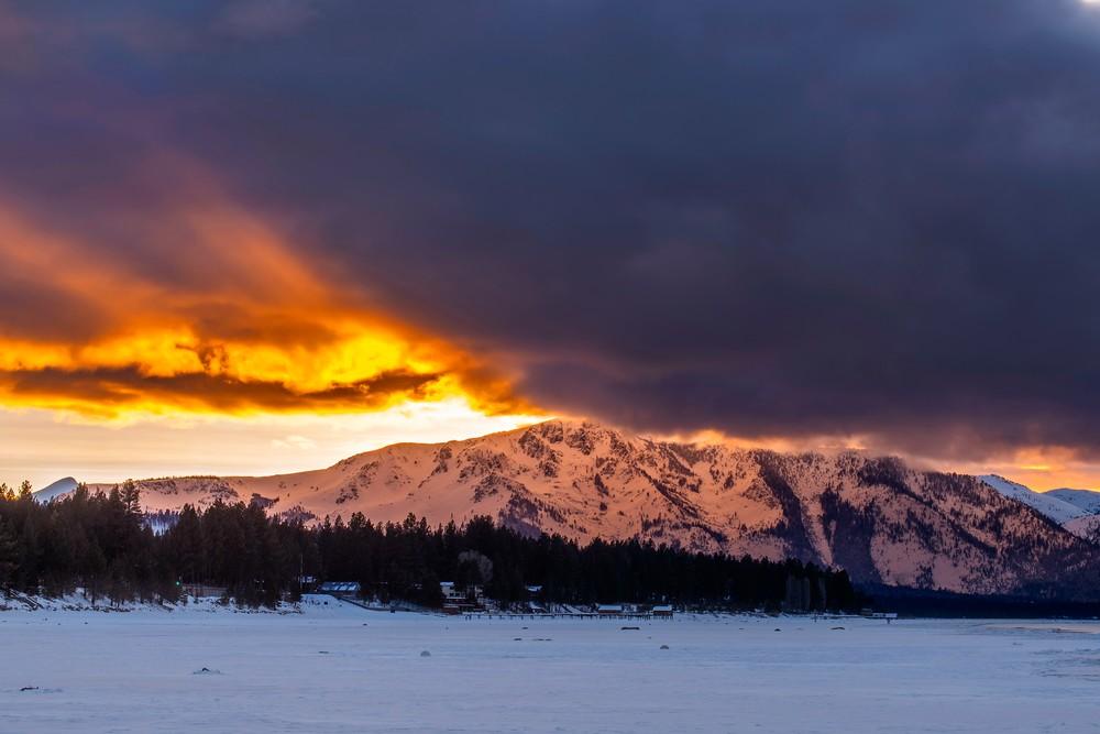 Tallac Rays Lake Tahoe Photo Print