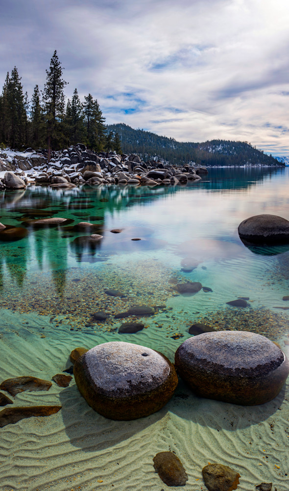 Transparent Bliss, Lake Tahoe print by Brad Scott