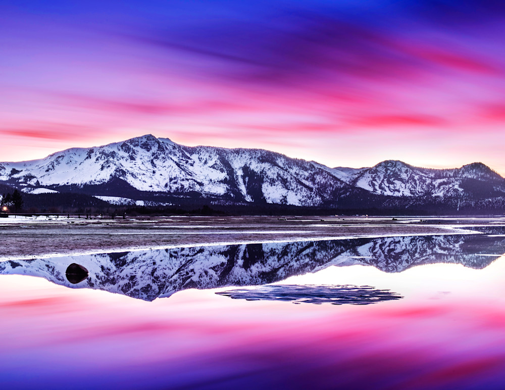 Tallac Reflections Lake Tahoe print by Brad Scott