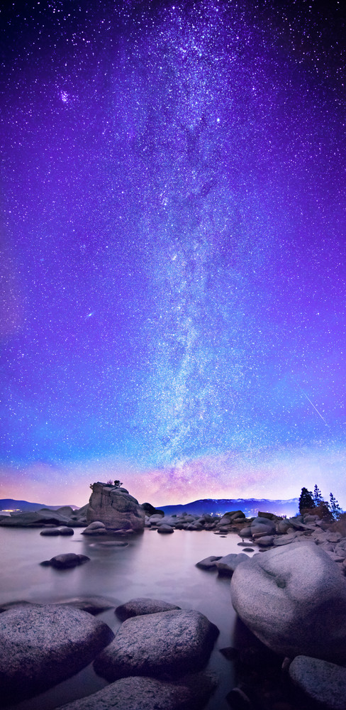Star Gazer Lake Tahoe print by Brad Scott