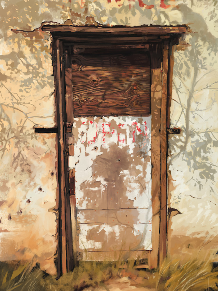 Open: Fine Art Print by Hondo Branson.